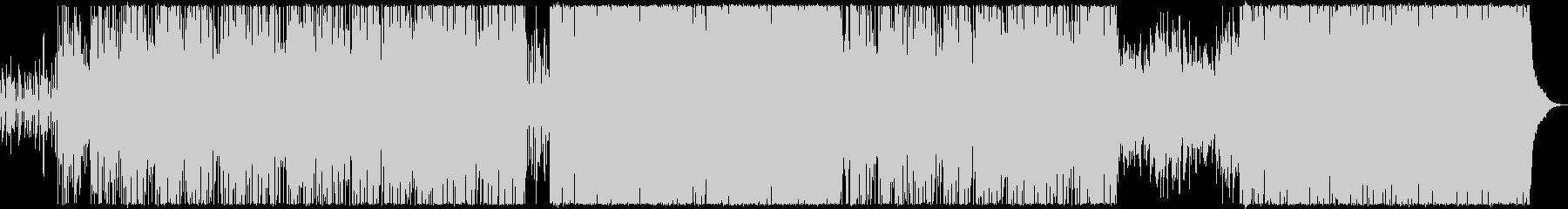 水色プールの未再生の波形