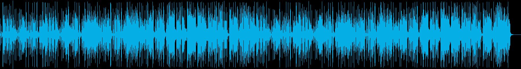 BGM_悪ガキの再生済みの波形