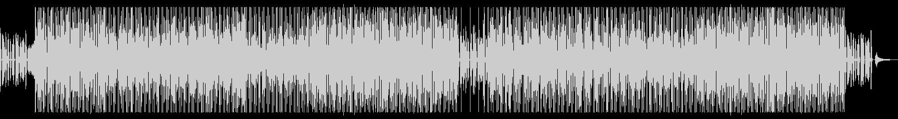 爽やかなボサノバ調の未再生の波形