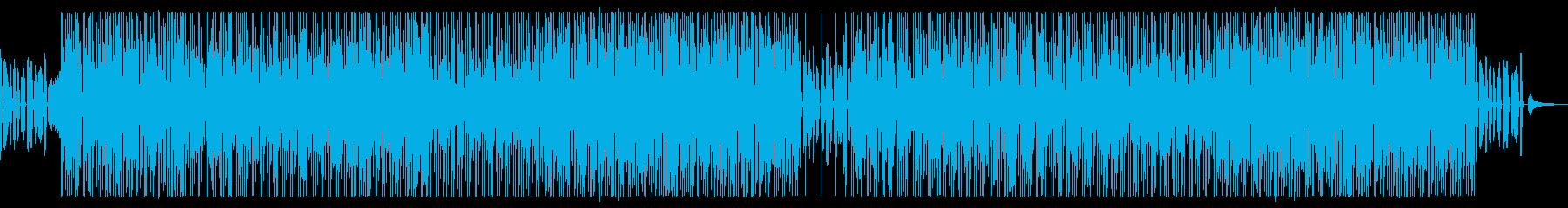 爽やかなボサノバ調の再生済みの波形