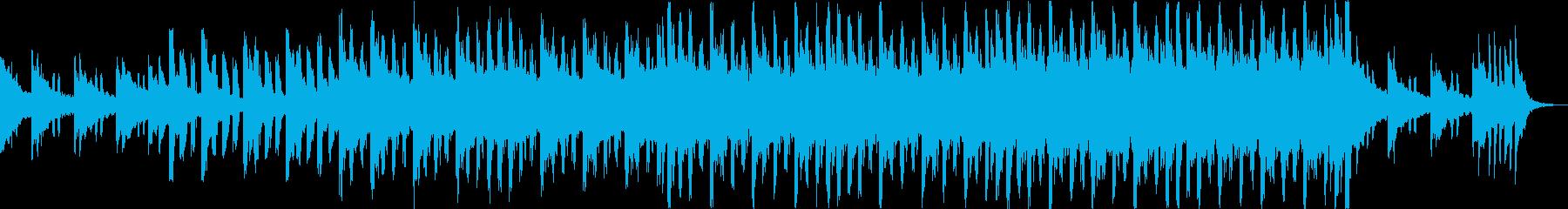 軽快で爽やかなオープニングコーポレートbの再生済みの波形