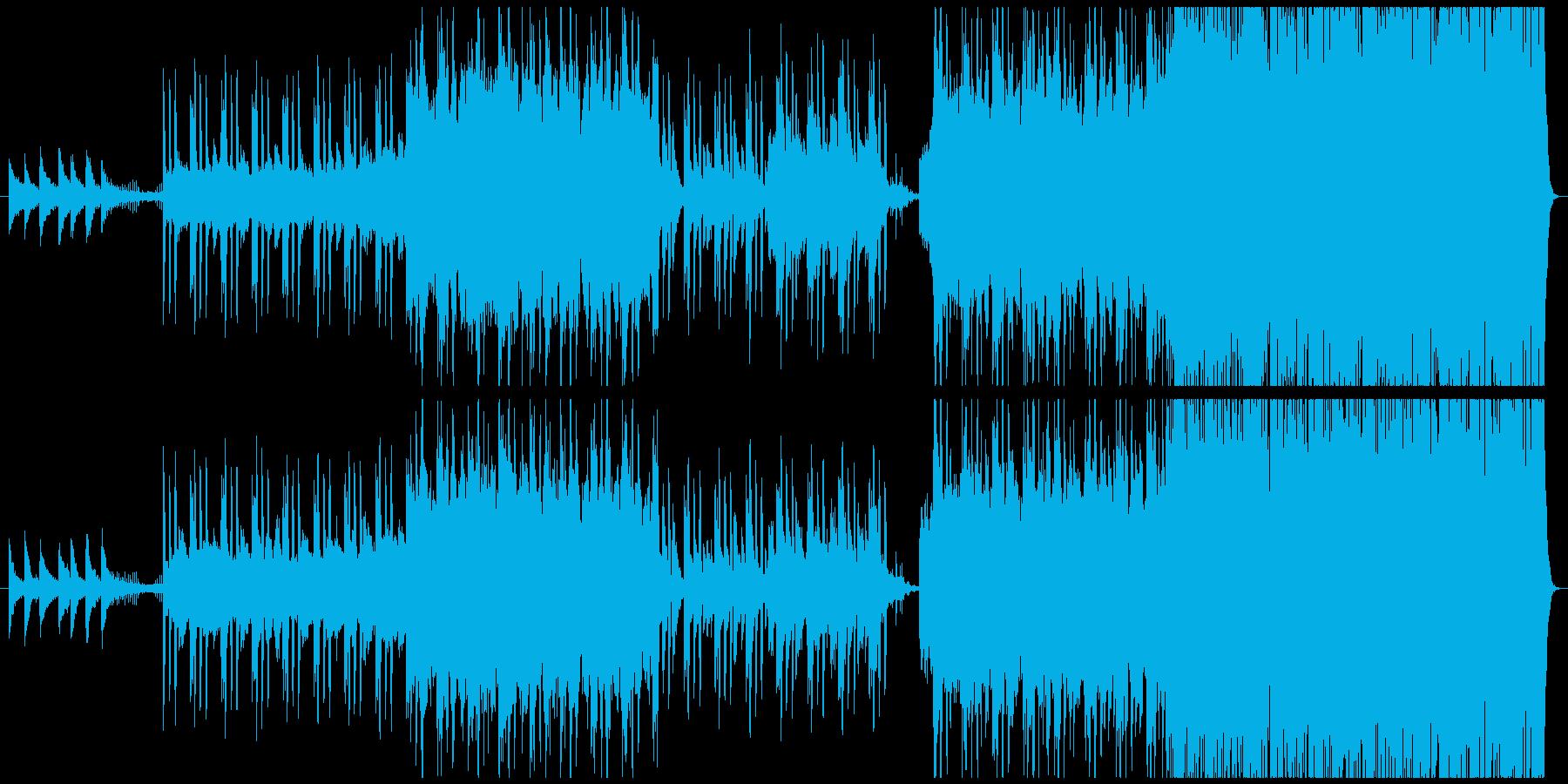 壮大・荘厳・情熱的 弦と二胡バラード劇伴の再生済みの波形