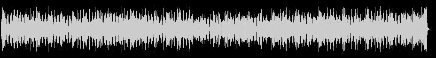 明るく可愛らしい電子音のメロディの未再生の波形