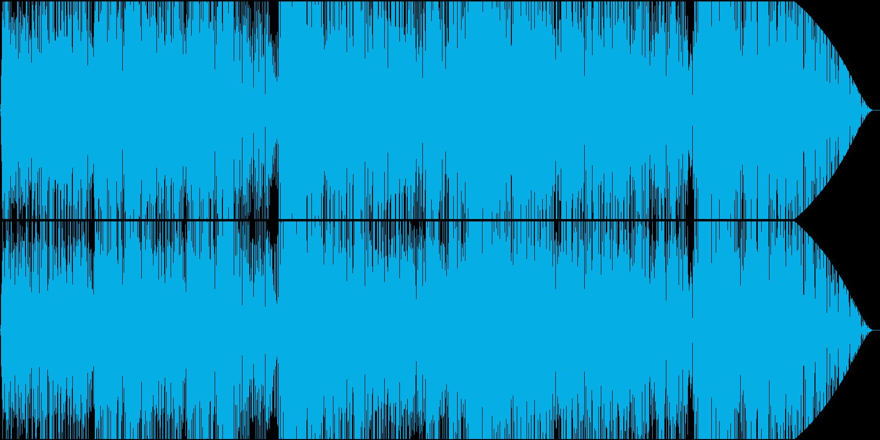 英語ネイティブ、ノラジョーンズ風ボサノバの再生済みの波形