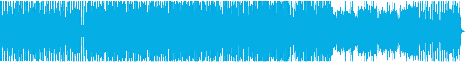 3xoscによるシンプルなテクノ の再生済みの波形
