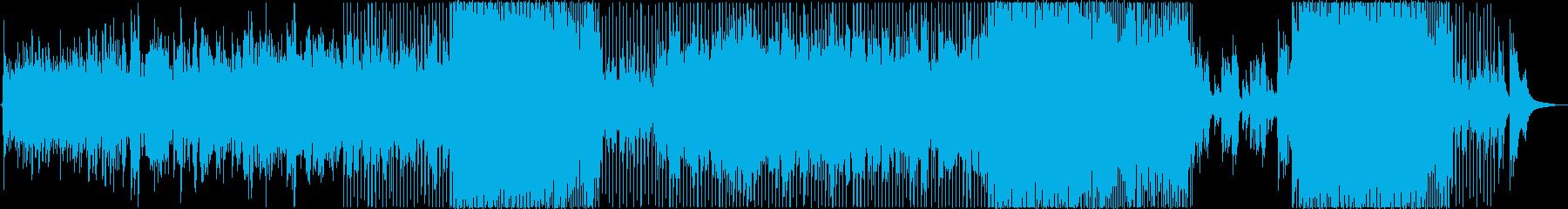 Singing Lifeの再生済みの波形
