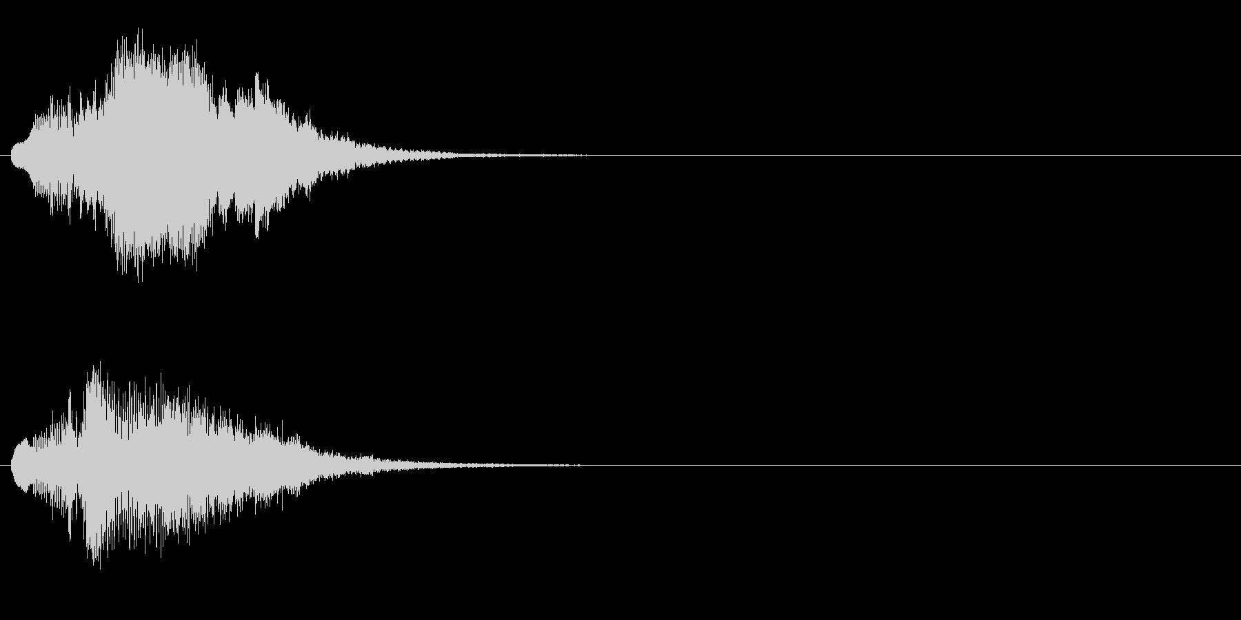 ハープ・上昇_7-1の未再生の波形
