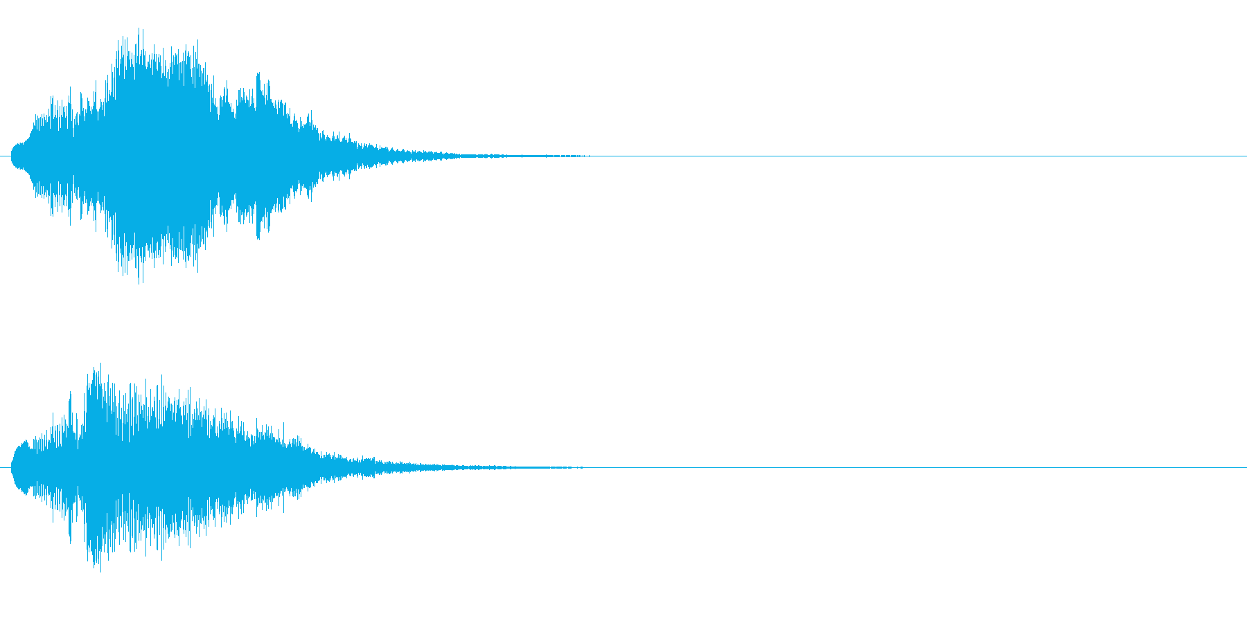 ハープ・上昇_7-1の再生済みの波形