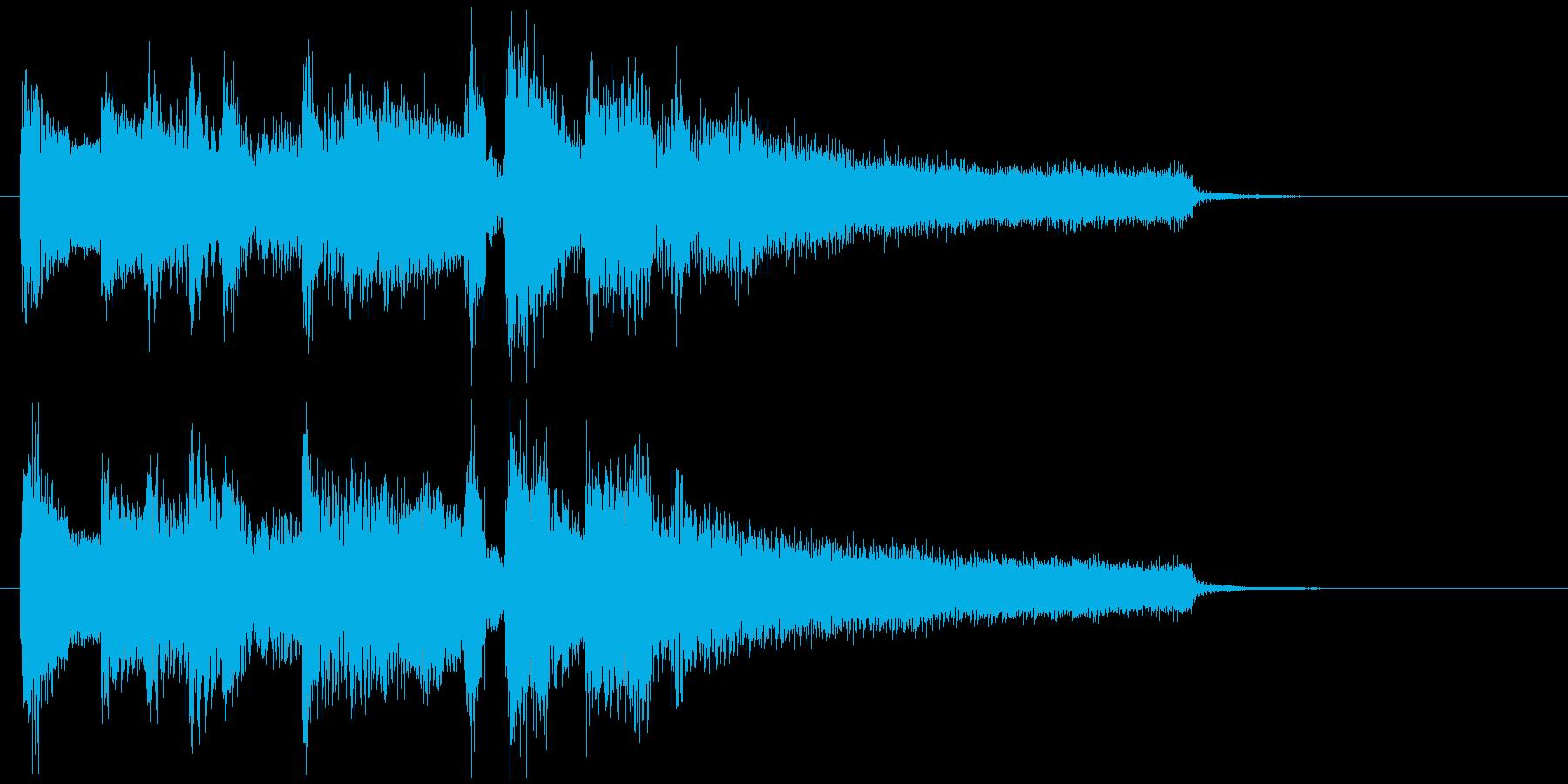 のびやかな笛のボサノバ・ジングル、切なさの再生済みの波形