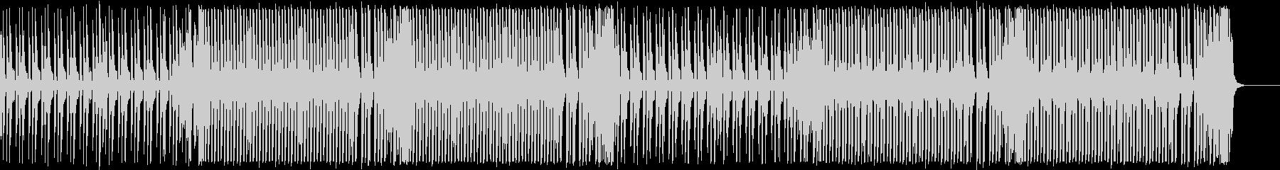 エレクトロスウィング/怪しげで楽しげな曲の未再生の波形