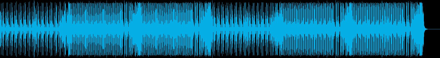 エレクトロスウィング/怪しげで楽しげな曲の再生済みの波形