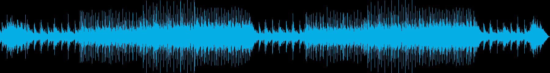 スロー。ピアノバー。文字列。の再生済みの波形