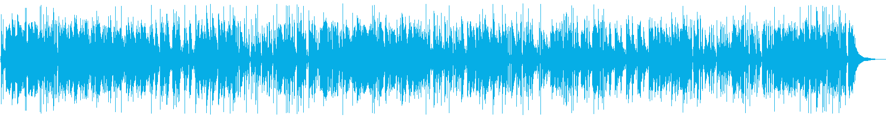 Datsun dance Bossa Nova arrangement's reproduced waveform