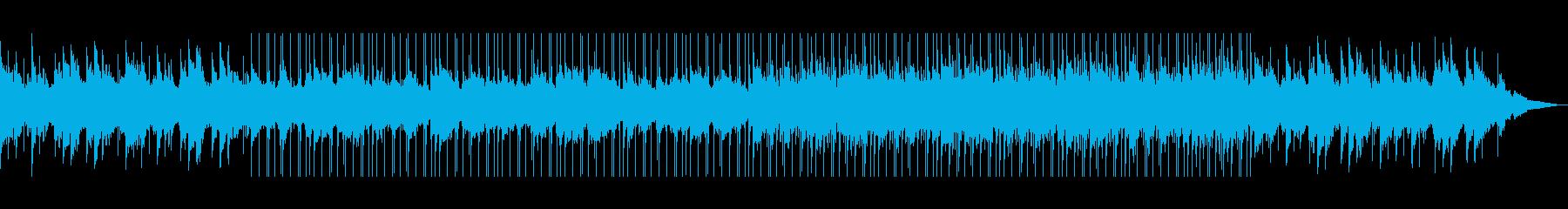 ゆったり落ち着いた大人な雰囲気の曲の再生済みの波形