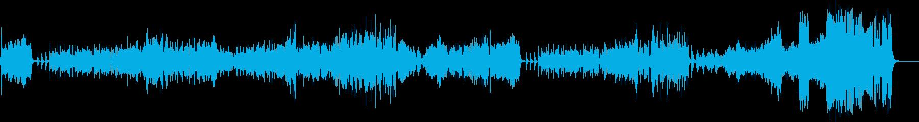 バレエ音楽っぽいオーケストラ曲です。の再生済みの波形