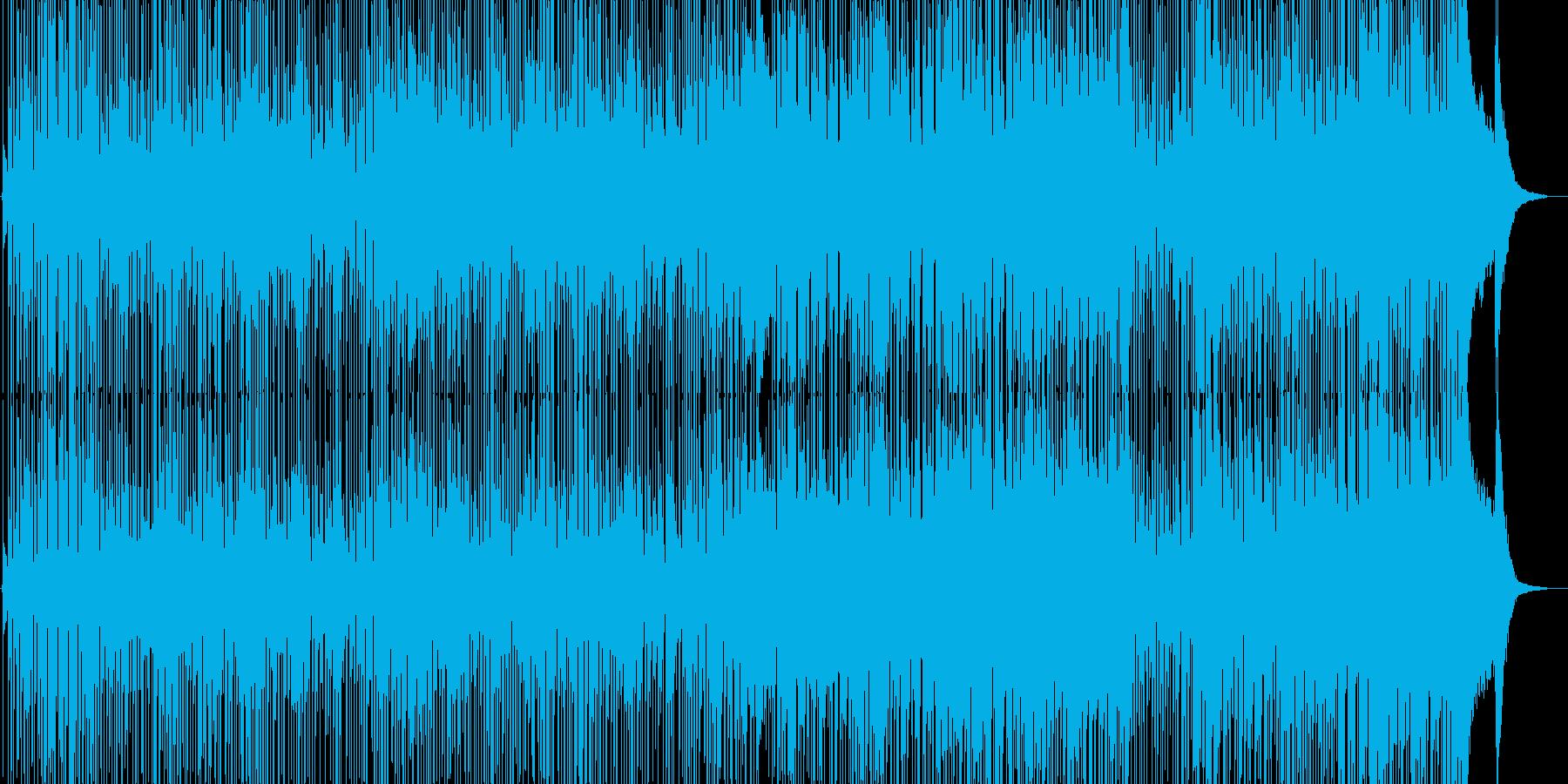 グルーヴ感たっぷりのインストの再生済みの波形