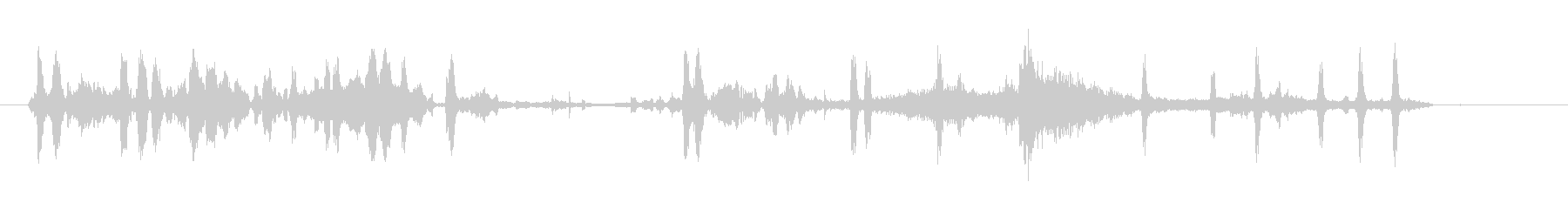 競馬ギャロップの未再生の波形