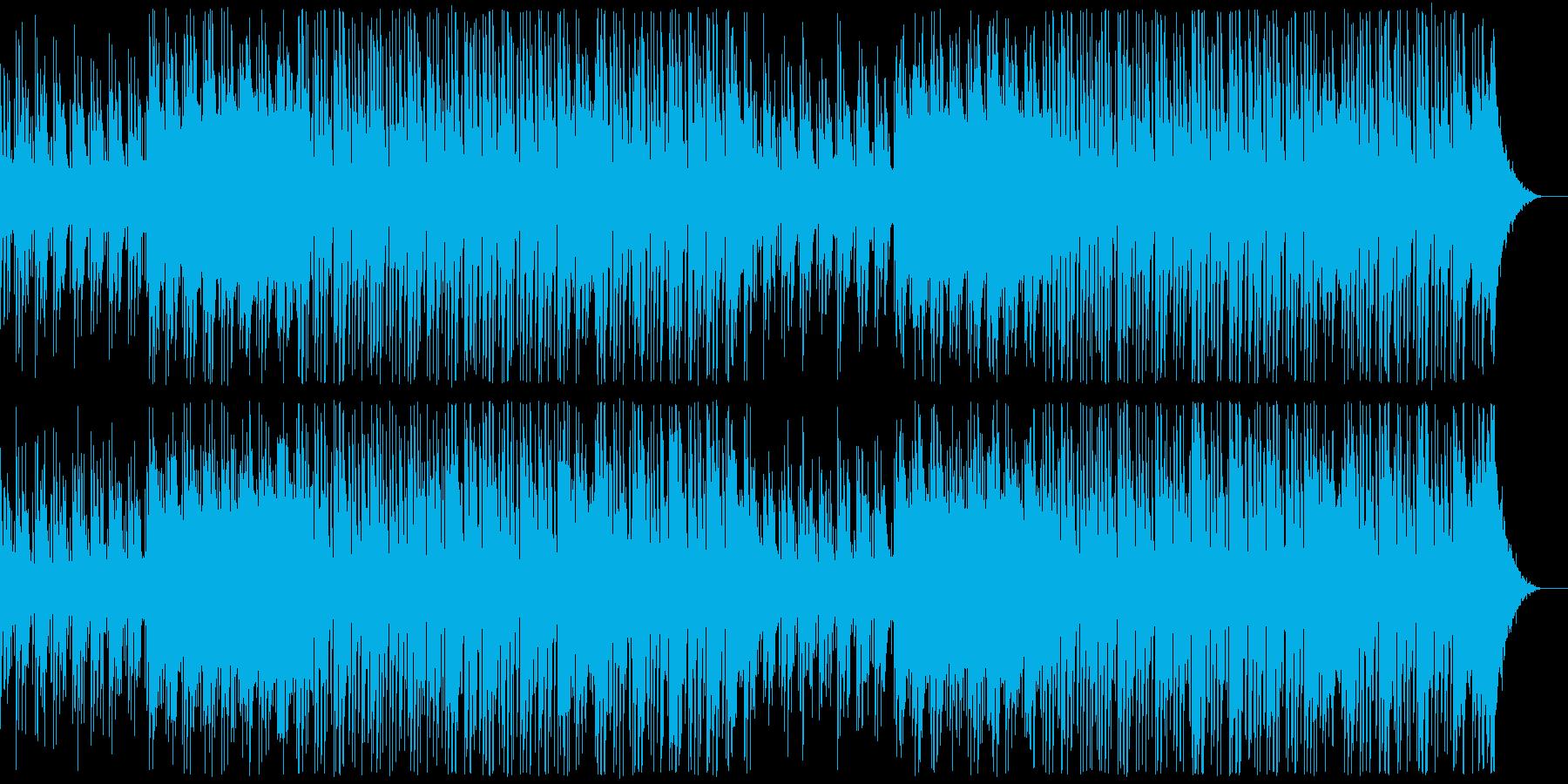 製品紹介、プレゼン、CM、エレクトロの再生済みの波形