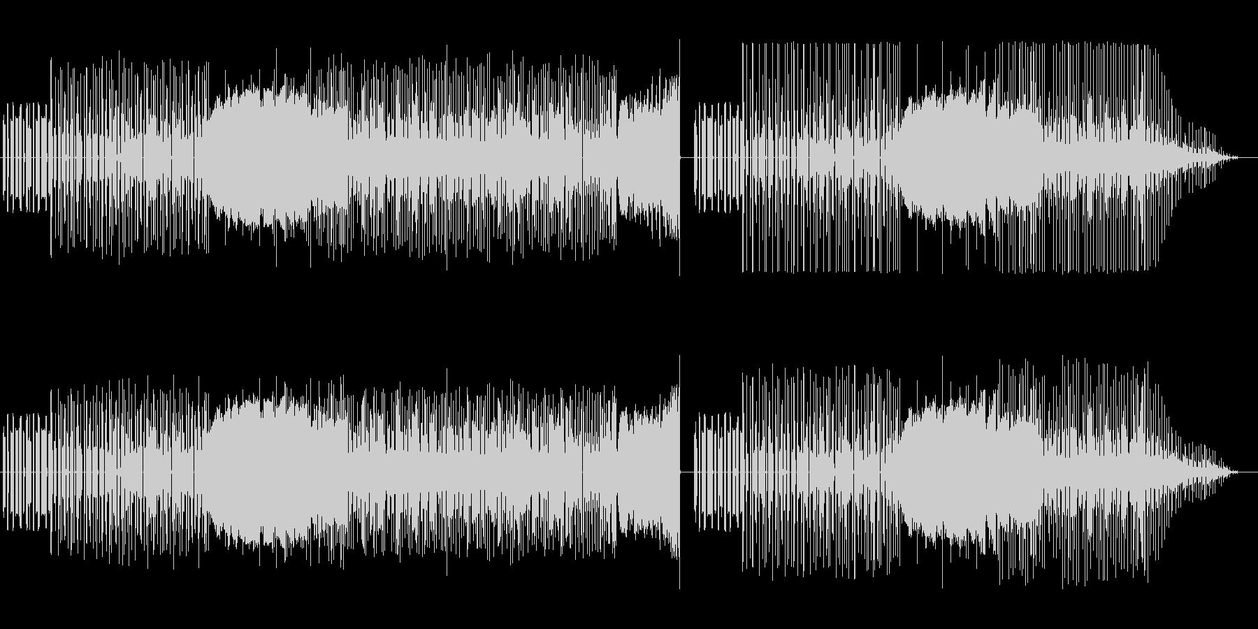 ファミリーコンピューターな音楽の未再生の波形