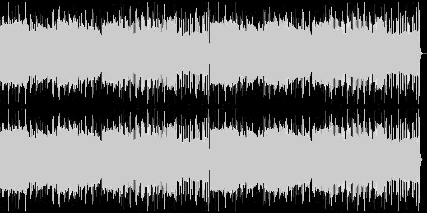 レトロゲーム風BGM(軽快)の未再生の波形