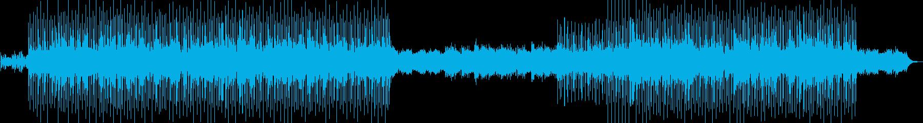 おしゃれで爽やかなドライブミュージックの再生済みの波形