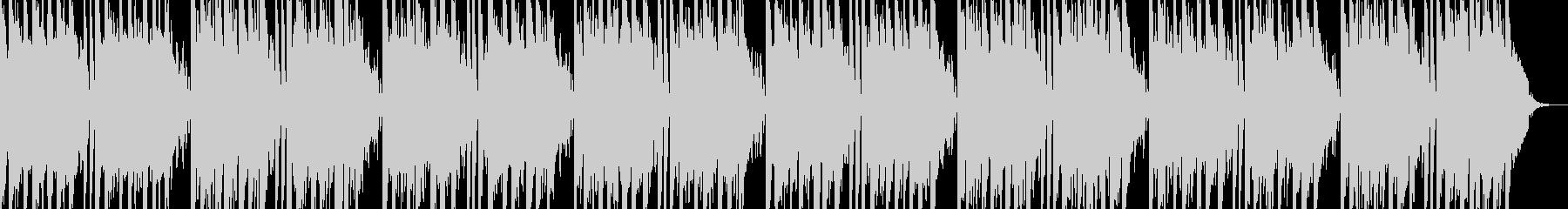 キラキラ感のシンセサイザーBGMの未再生の波形