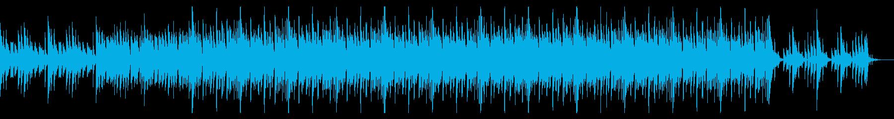 薄暗くノイジーなトリップホップの再生済みの波形