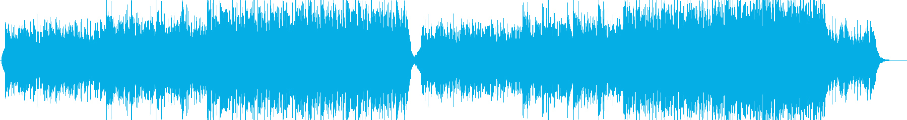 BGM for enterprises with a magnificent image's reproduced waveform