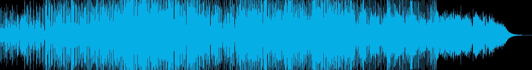 インストゥルメンタル、ロック、バッ...の再生済みの波形