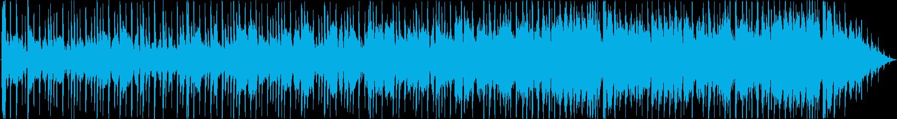 ミディアムスイング、最後にフラモニカソロの再生済みの波形
