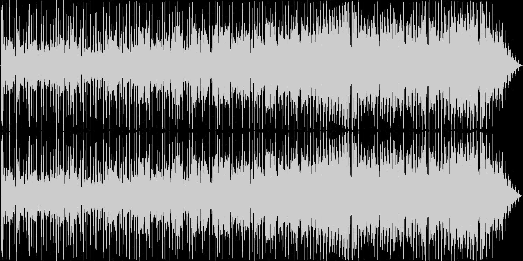 ミディアムスイング、最後にフラモニカソロの未再生の波形