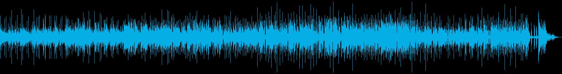 生エレキ(ワウ)呑気なカントリーブルースの再生済みの波形