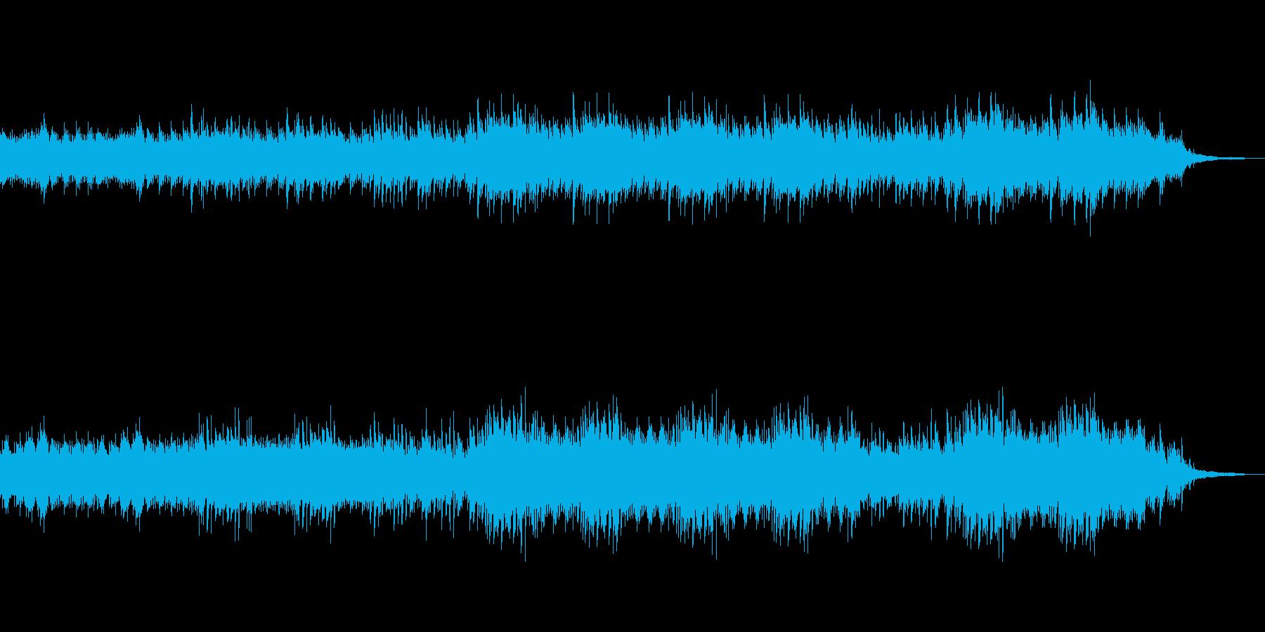 美しい川をイメージした流れるようなBGMの再生済みの波形