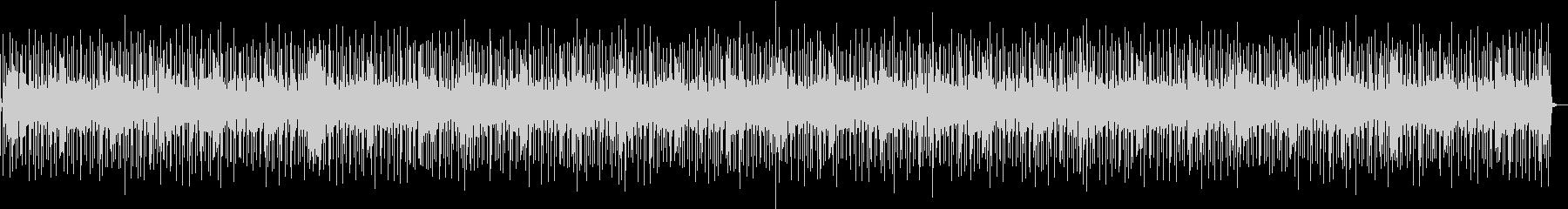 バンドサウンド軽快なロックンロールBGMの未再生の波形