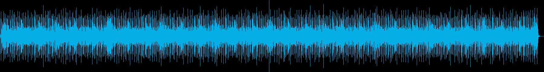 バンドサウンド軽快なロックンロールBGMの再生済みの波形