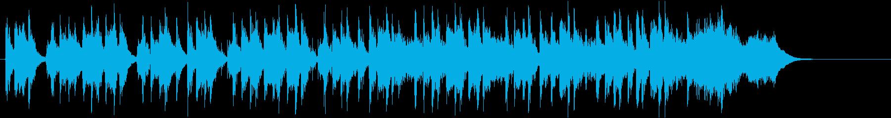 勇ましいオーケストラ-短縮版-の再生済みの波形