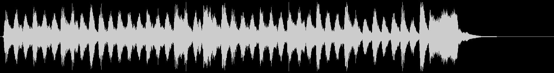 弦楽四重奏、アンティーク、古風なジングルの未再生の波形