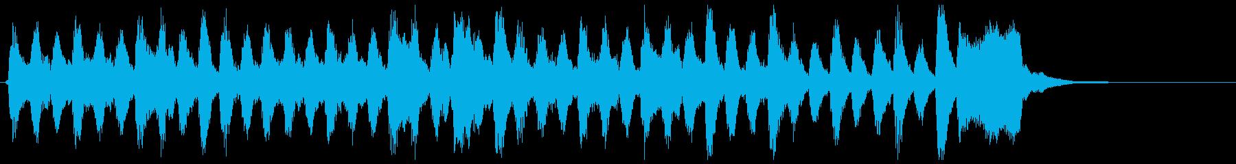 弦楽四重奏、アンティーク、古風なジングルの再生済みの波形