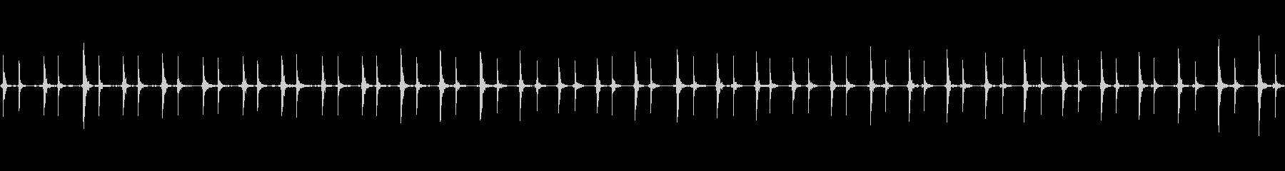 マウス;複数のマウスクリック。の未再生の波形