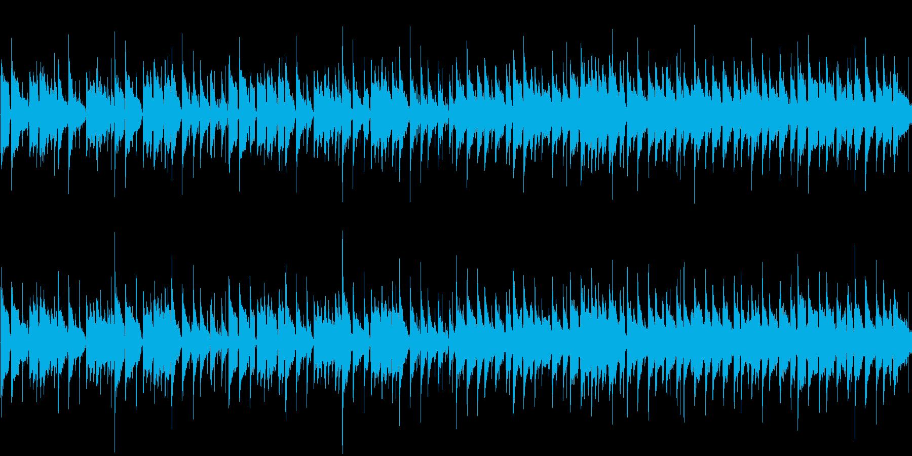 夏に合うさわやかボサノバ風【ループ】の再生済みの波形