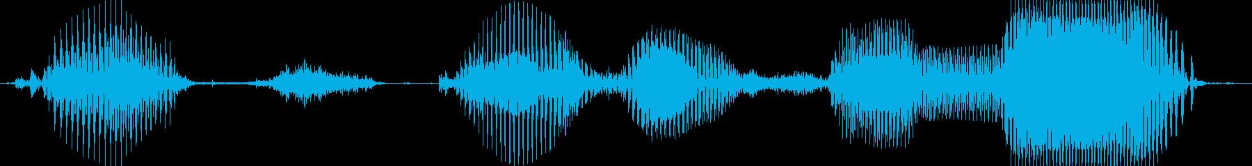 おつかれさま!の再生済みの波形