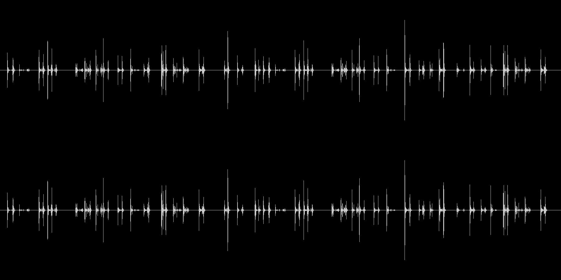 【PC キーボード01-テンキー2】の未再生の波形