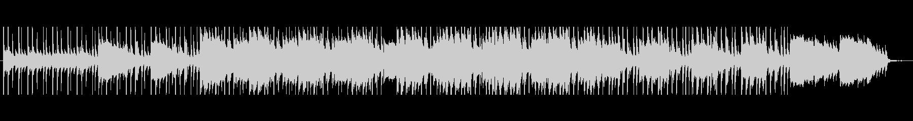 森の中を歩くBGMの未再生の波形