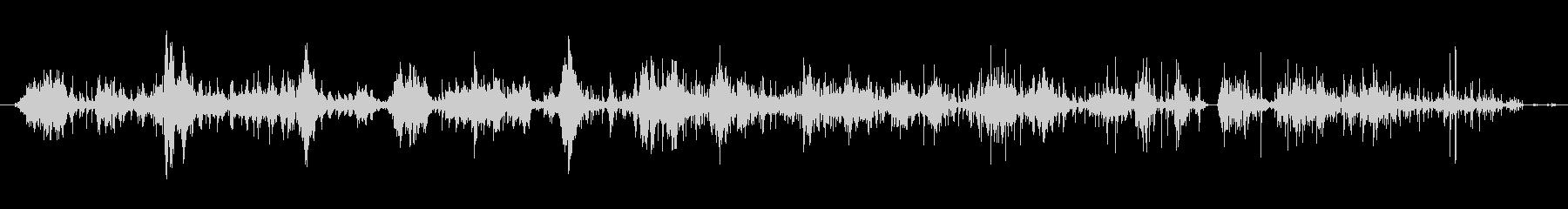 アルミホイルの一部:ロングムーブメ...の未再生の波形