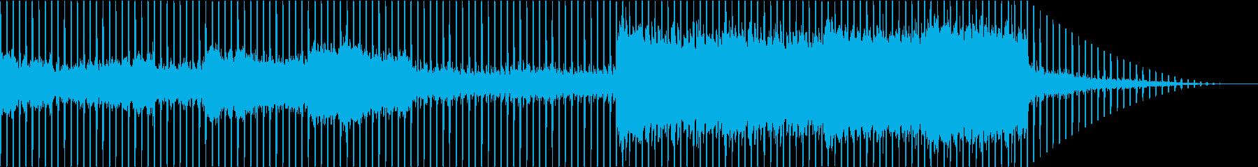 壮大でゆったりとしたエレクトロニカの再生済みの波形