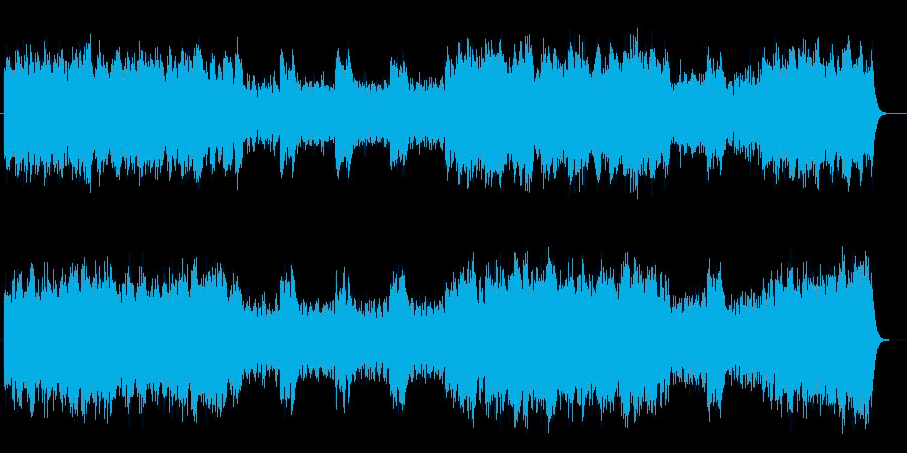 ストリングスによる透明感のあるポップスの再生済みの波形