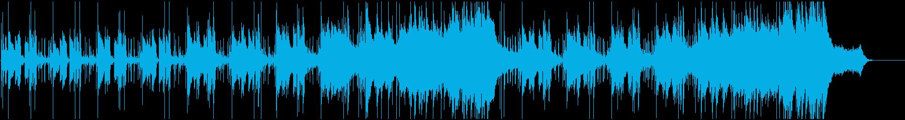 リフレッシュイメージのライトフュージョンの再生済みの波形