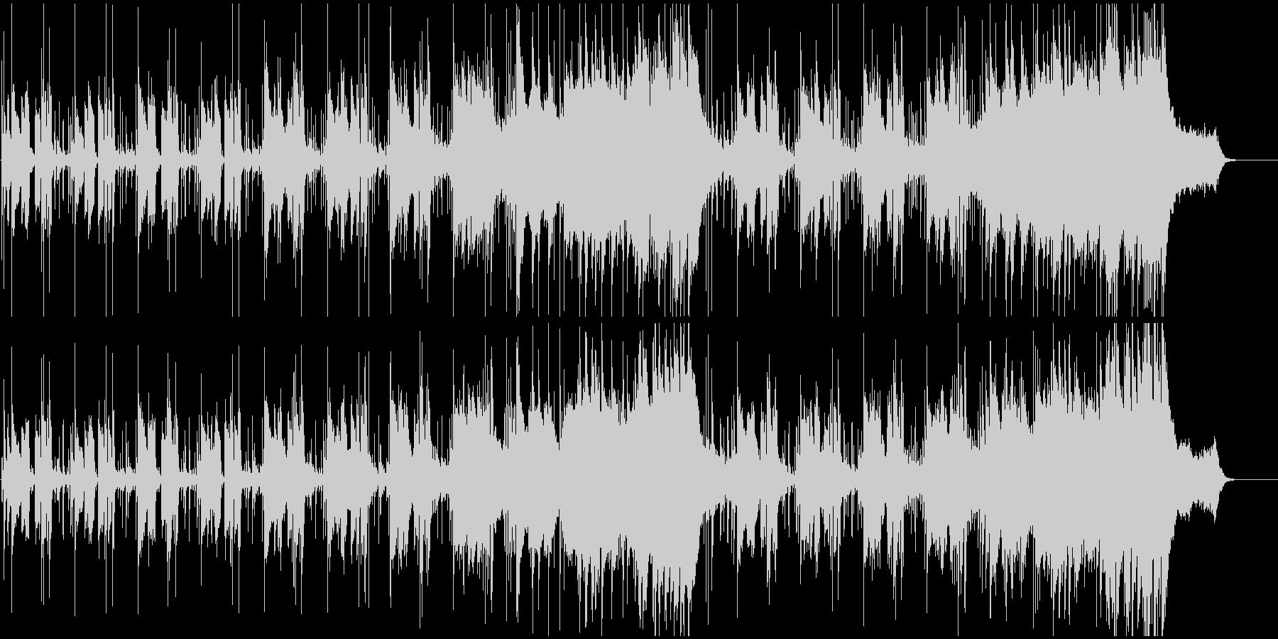 リフレッシュイメージのライトフュージョンの未再生の波形