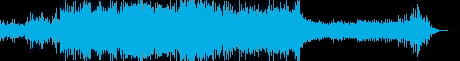 ドラマチック/シネマティックオープニングの再生済みの波形