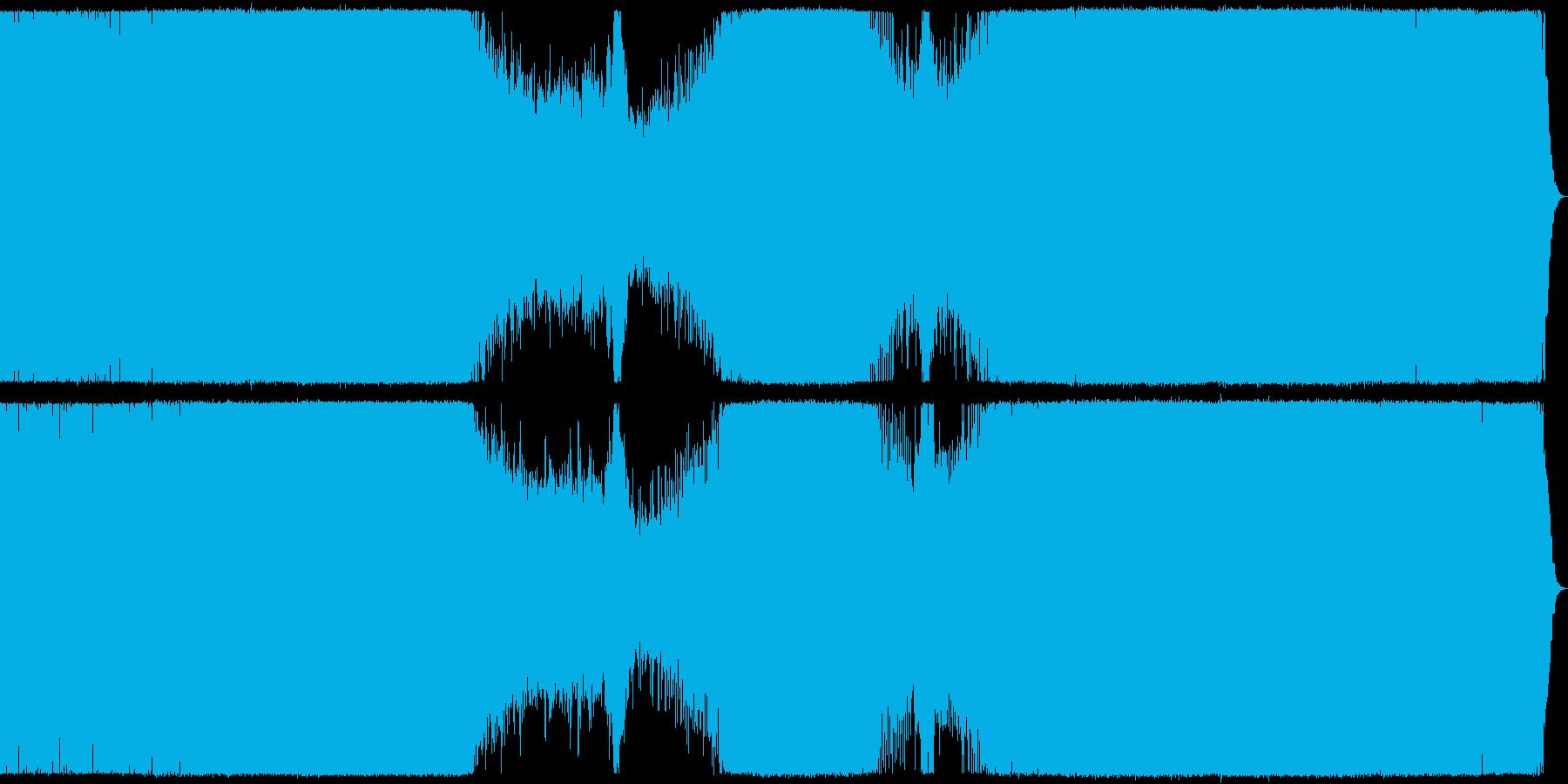 爽やかで感傷的なメロディックトランス。の再生済みの波形